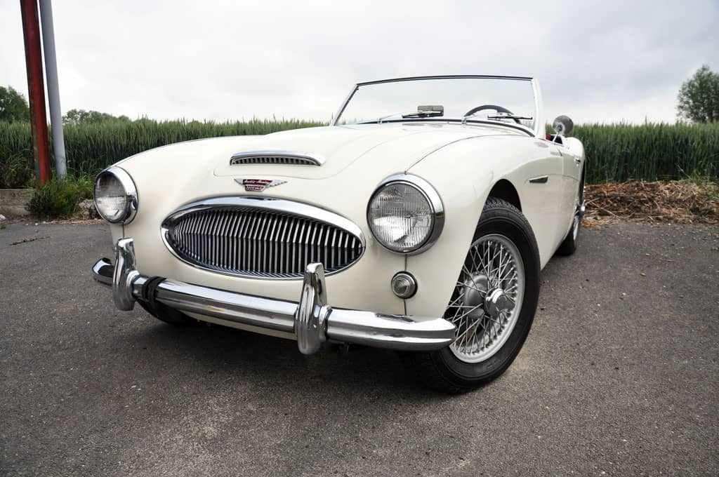 Austin-Healey 3000 BT7 Tri-Carbus 1962