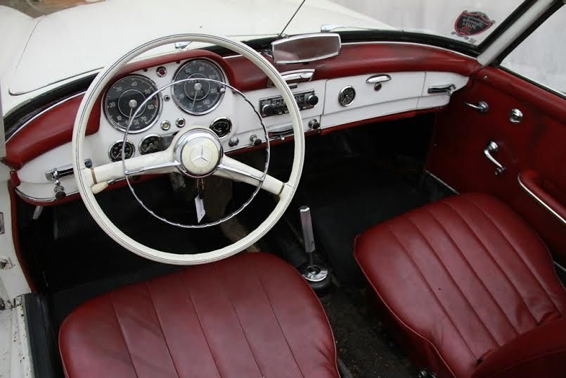 Mercedes 190 SL 1960