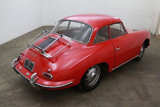 Porsche 356 B Notchback 1961