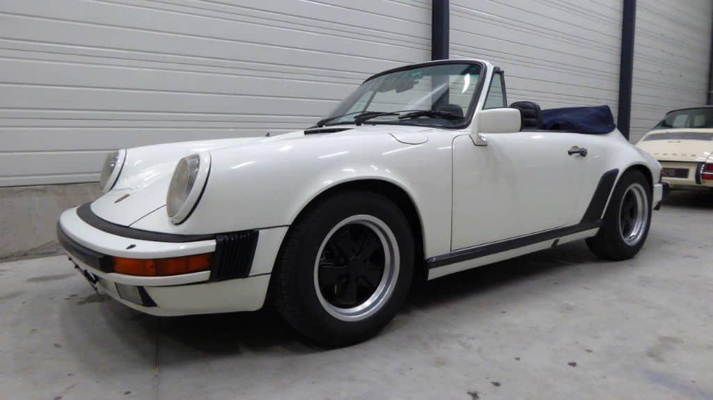 Porsche 911 Cabriolet 1984