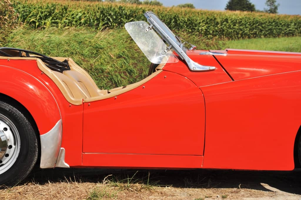 Triumph TR3 «petite bouche»
