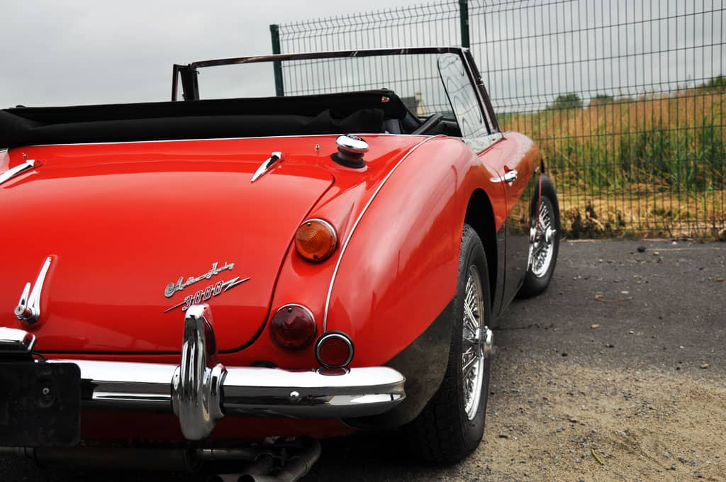 Austin-Healey 3000 BJ8 Rouge/noir
