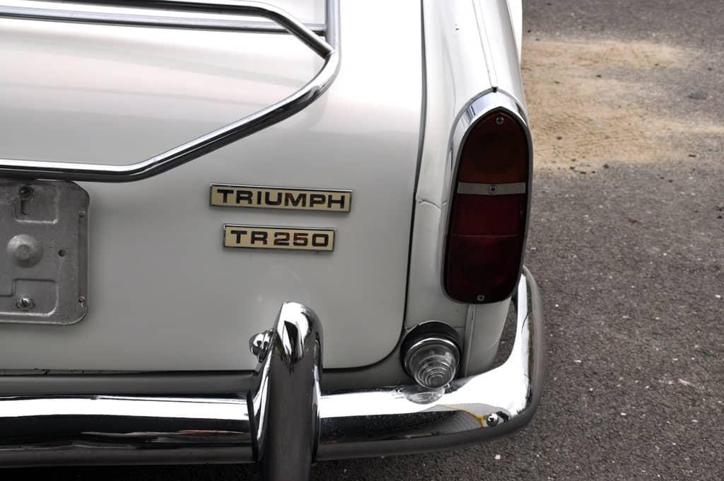 TRIUMPH TR250 1968 REF 265