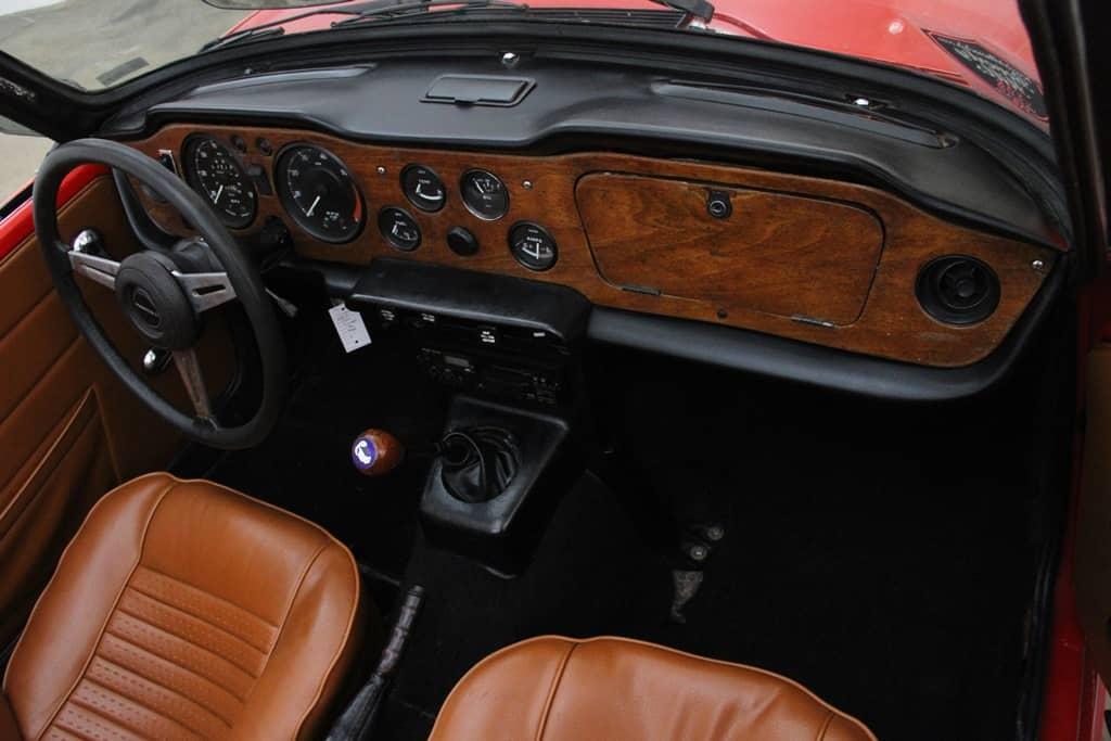 TRIUMPH TR6 1973 REF 281