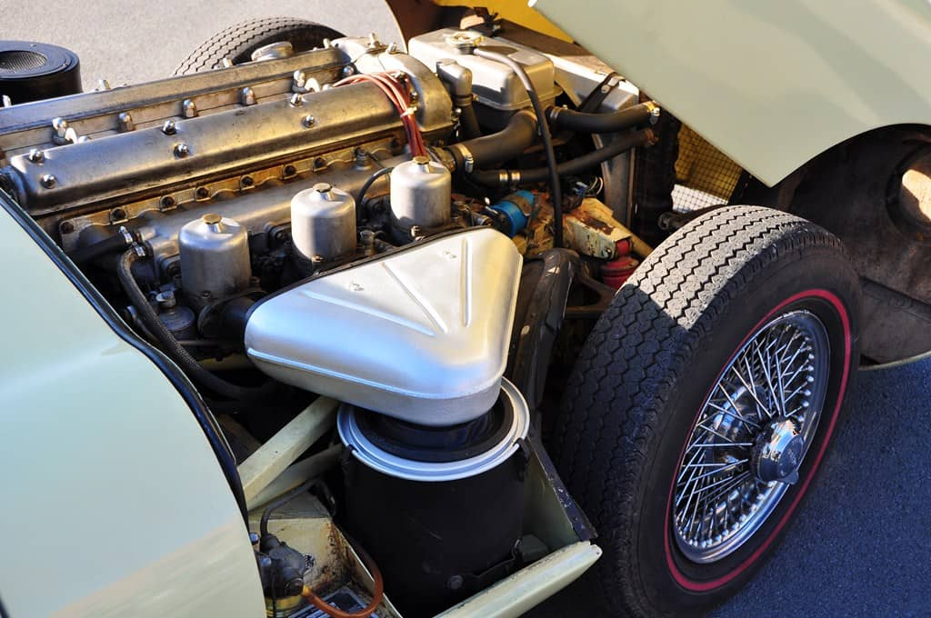 Jaguar Type E Coupé 1968 Jaune