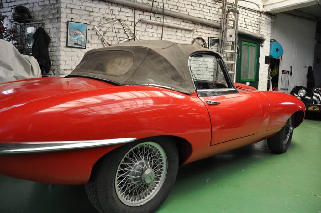 Jaguar TYPE E Cabriolet 1962