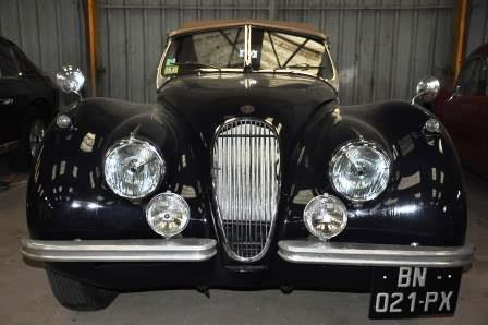 jaguar xk 120 ots roadster 1953 ref 267 auto classic garage saint malo. Black Bedroom Furniture Sets. Home Design Ideas
