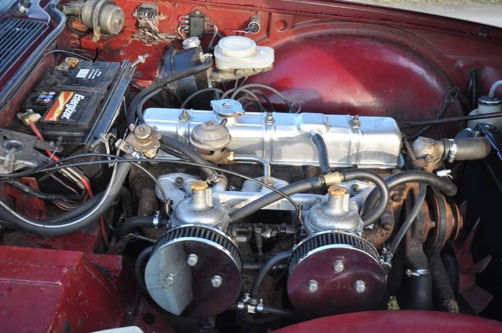 TRIUMPH TR6 1976 REF 272