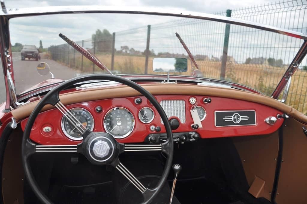 MG MGA 1957 REF 308