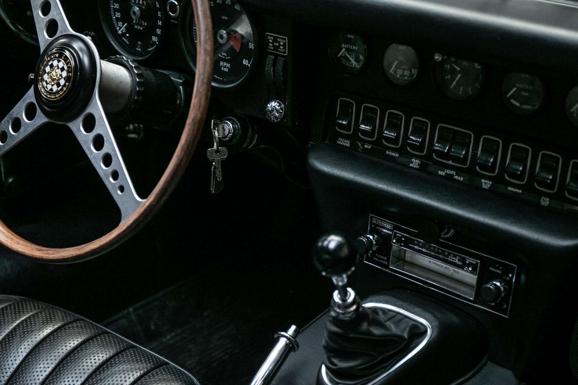 Jaguar Type E Cabriolet serie 2 – 1969