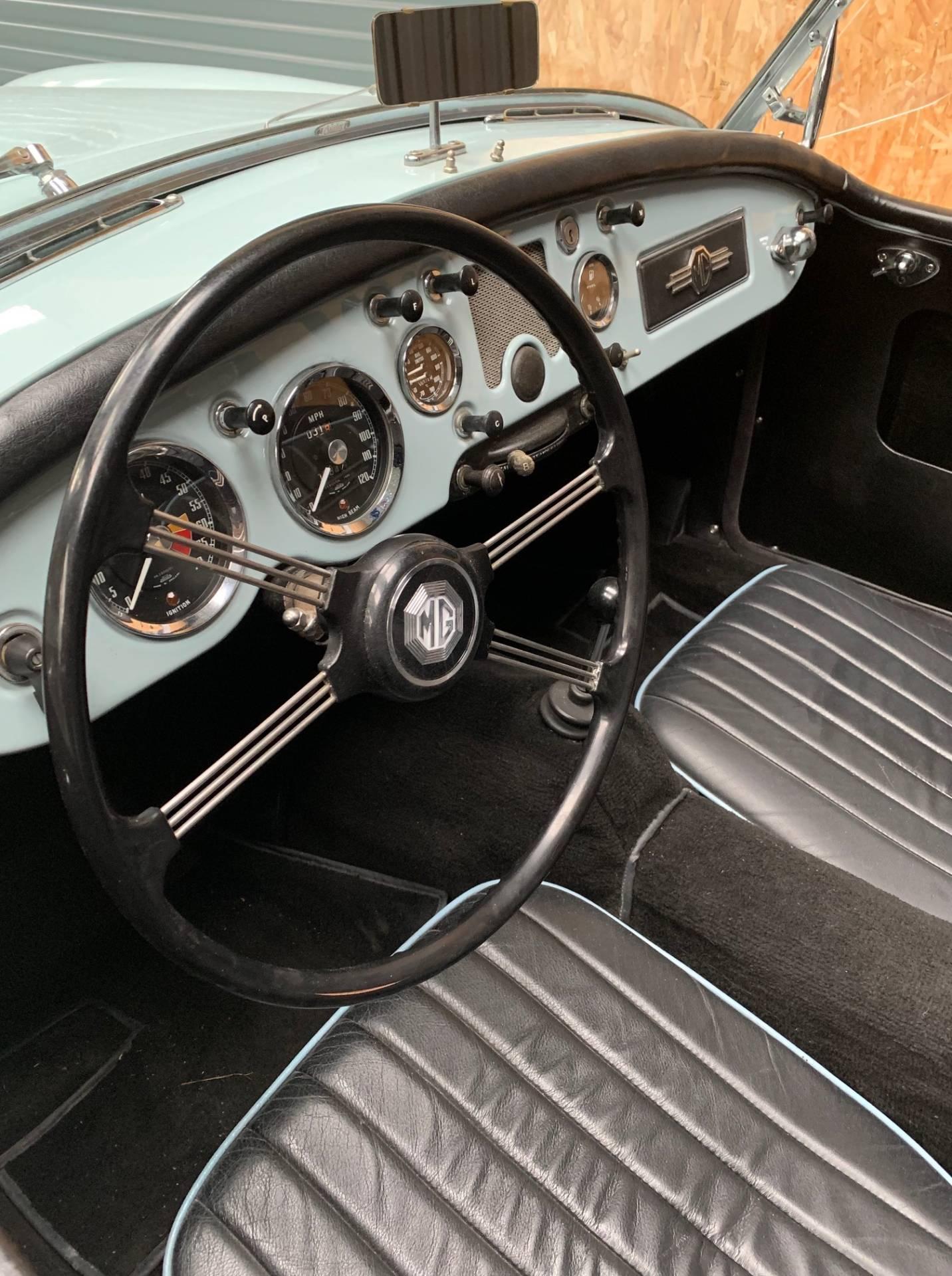 MG A – 1500 – 1956